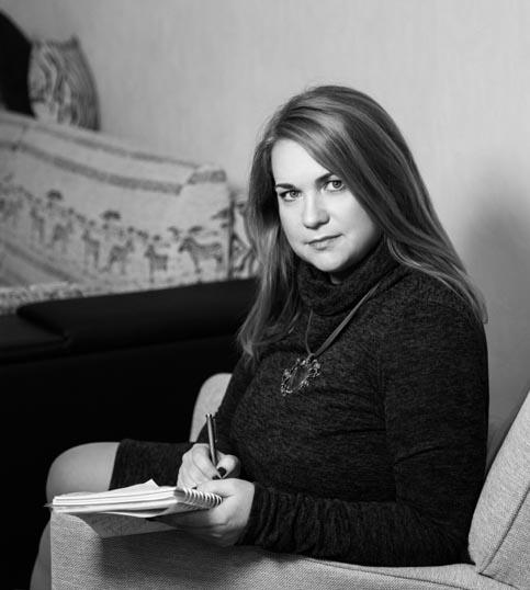 Катерина Левин - психолог, психоаналитик